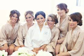 bridesmaids robes cheap bridesmaid robes chagne wedding robes bridesmaid silk robe