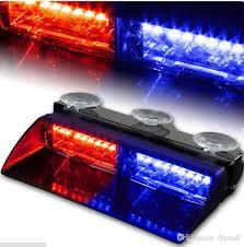16 led 18 mode emergency vehicle dash warning strobe