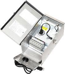 low voltage landscape lighting transformers with transformer