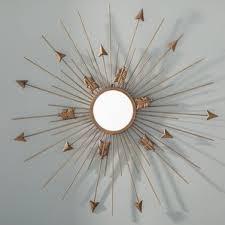 Mid Century Modern Wall Mirror Mid Century Modern Sunburst Mirrors You U0027ll Love Wayfair