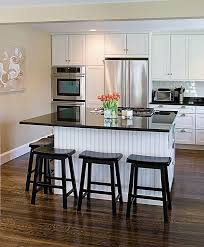 white kitchen island with seating 4 seat kitchen island