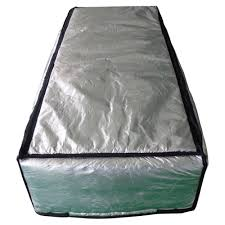 thermoclimb 25 in x 59 in attic stair cover in double reflective