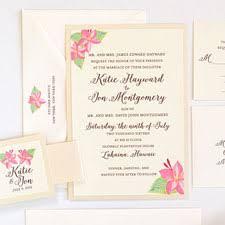 tropical wedding invitations custom watercolor invitations unique handmade wedding invitations