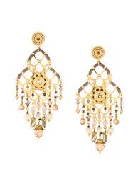 gas earrings gas bijoux chandelier earrings 239 buy online ss17