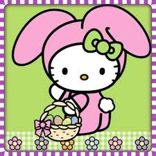 easter bunny pinterest easter hello kitty and kitty