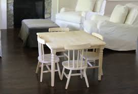 jenny steffens hobick finishing an unfinished kids table u0026 chairs