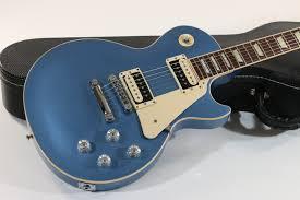light blue gibson les paul 2012 gibson les paul traditional pro in pelham blue lovies guitars