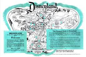 Disney Map Davelandblog Opening Day The Michael Black Collection