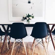 Side Chairs For Bedroom by Urbnite Eames Molded Side Chair Dowel Legs Eames Pinterest