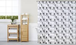 Shower Curtains With Matching Accessories Matching Shower Curtain And Bath Accessories Set 18 Groupon