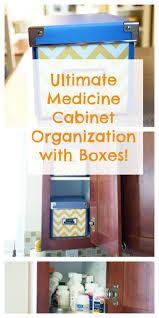 Organize Medicine Cabinet Organized Medicine Cabinet The Organized Mom