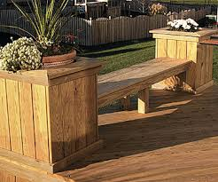 Wood Deck Chair Plans Free by Diy Deck Ideas Page 2 Of 6 Live Dan 330 Diy Outside