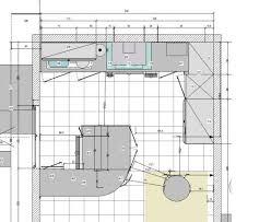 profondeur plan de travail cuisine profondeur plan de travail amazing profondeur meuble cuisine