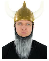 beard halloween costumes viking beard black and gray heather dwarves and barbarians beard