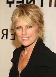 short layered layered hair cut for women over 50 pictures patti hansen short layered razor hairstyle for women over 50