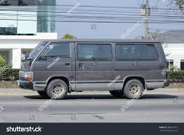 old nissan van chiangmai thailand february 8 2016 private stock photo 382815871