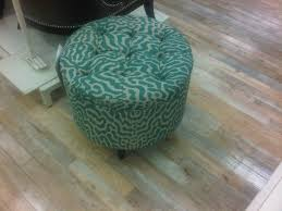 teal tufted ottoman homesense potential living room furniture