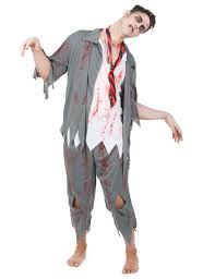 Scary Halloween Costumes For Men Scary Zombie Costume For Men Vegaoo