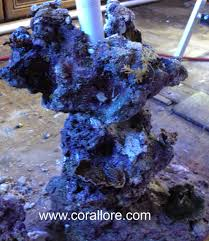 Aquascape Reef Aquascaping Columns In A Saltwater Tank Corallore Com