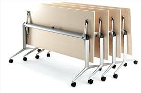 Folding Table With Wheels Folding Tables On Wheels Collapsible Table Chic Fold Up Table With