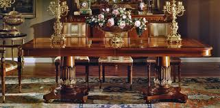 empire style high end dining table