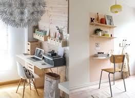 coin bureau dans salon 20 inspirations pour un petit bureau joli place