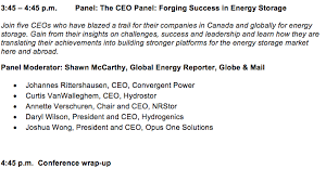 Power Chair Companies 2017 Conference Agenda U2014 Energy Storage Canada Join Today