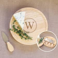 personalized cheese board set personalized five pc cheese board set 5 cheese board set