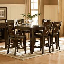 wood counter height table solid wood counter height table by home elegance chicago furniture