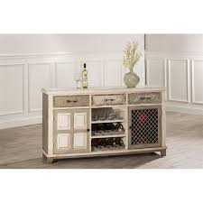 wine rack console table hillsdale larose wine rack console table in handpainted white 5808 866