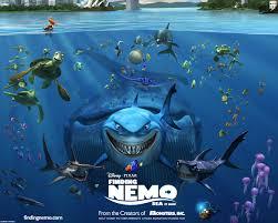 finding nemo 3d poster wallpaper