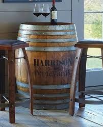 Barrel Bistro Table Oak Wine Barrel Bistro Table At Rs 60000 Sector 12