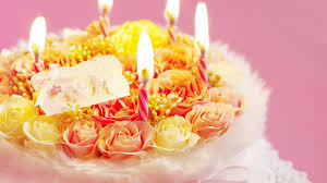 happy birthday flowers wallpaper