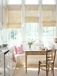 window treatments kitchen sunroom curtains good solution for multiple windows close