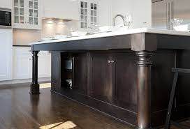 legs for kitchen island mullet cabinets kitchens stained kitchen island kitchen
