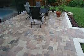 Small Paver Patio by Unique Brick Pavers Ideas