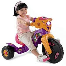 fisher price lights and sounds trike fisher price dora the explorer lights and sounds trike amazon ca