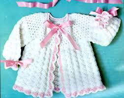 crochet baby sweater pattern baby sweater crochet etsy