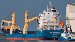 Tin Ziren Bbc Birte H Chartering Heavy Lift Ship Cranes 500 Tons