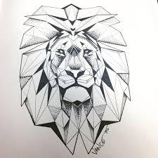 100 lion geometric tattoo 18 best tattoo inspirations