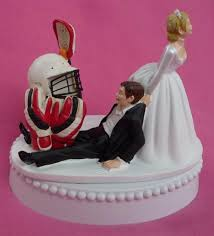 sports cake toppers wedding cake topper lacrosse player helmet gloves stick sports