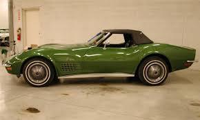 1972 corvette lt1 1972 chevrolet corvette lt1 convertible 21630