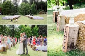 Rustic Backyard Wedding Ideas Terrific Planning A Small Backyard Wedding Pictures Design Ideas