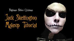 jack skellington makeup tutorial youtube