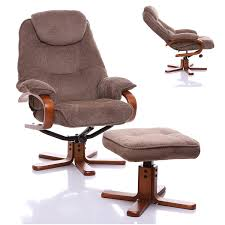 Swivel Recliner Chairs The Hong Kong Chenille Fabric Swivel Recliner Chair In Mink