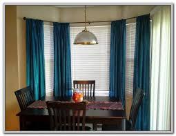 wrap around double curtain rod curtains home design ideas