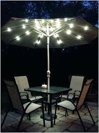 Lighted Patio Umbrella Solar Awesome Offset Patio Umbrella With Solar Lights For Patio Umbrella