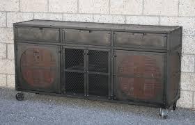 Midcentury Modern Sideboard Buy A Hand Made Vintage Mid Century Modern Rustic Industrial Media