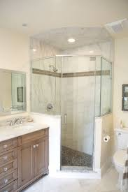 best ideas about neo angle shower pinterest neo angle shower half walls both sides bathroom remodeling photos