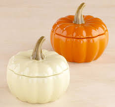 ceramic pumpkins pumpkin bakers the green